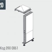 SHARK 282/332 Соединительная деталь для разгрузочного стола Код 090 0861