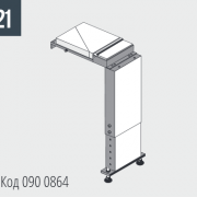 SHARK 282/332 NC 5.0 - 382 – Соединительная деталь для разгрузочного стола Код 016 0864