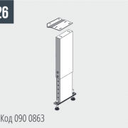 TIGER 352/372 Соединительная деталь для разгрузочного стола Код 090 0863