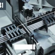 TIGER 352 NC 5.0 макс. 70x70 Комплект комбинированных губок для зажима при одновременной обработке нескольких заготовок