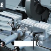 COBRA 352 NC 5.0 – Комплект комбинированных губок при наличии тисков для уменьшения длины остающегося прутка (макс. 70×70 мм)