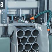 SHARK 230 NC HS 5.0 – Устройство автоматического отвода задней губки подающих тисков на 8 мм