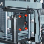 SHARK 230 NC HS 5.0 – Гидравлические вертикальные тиски для одновременной обработки нескольких заготовок (макс. 230×230 мм)